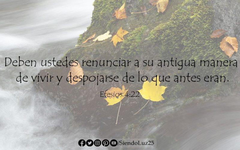 Efesios 4:22
