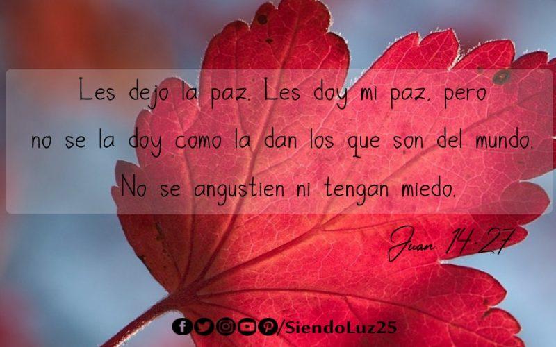 Paz - Juan 14:27
