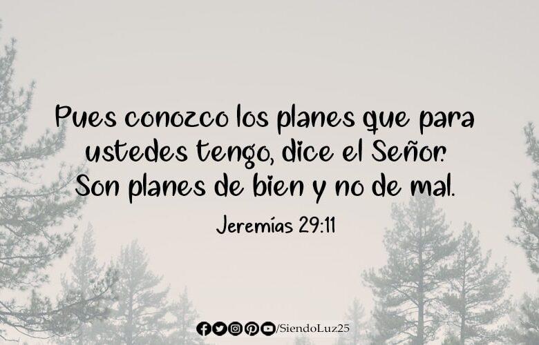 Dios tiene planes de bien para ti