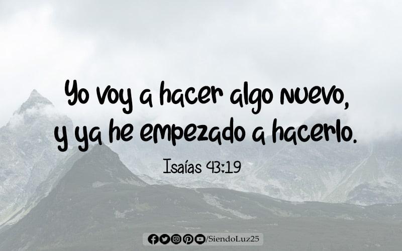 Dios hará algo nuevo en tu vida