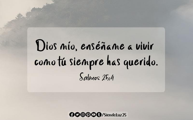Salmos 25:4
