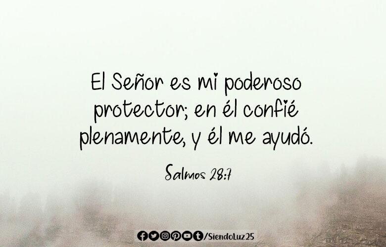 Salmos 28:7