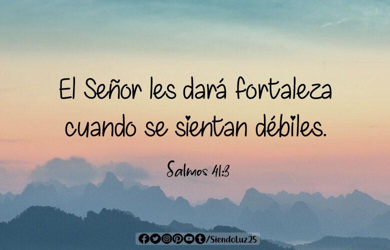 Salmos 41:3